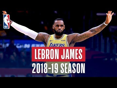 LeBron James' Best Plays From the 2018-19 NBA Regular Season