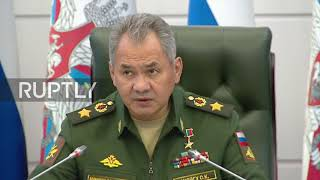 Russia: Shoigu warns Israel of