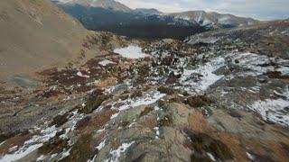 Colorado FPV Mountain Dive Over Frozen Lake | 4k Cinematic