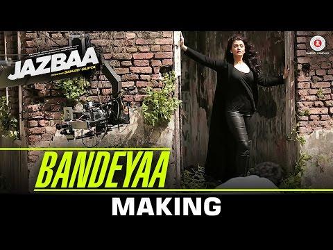 Bandeyaa Making Jazbaa  Aishwarya Rai Bachchan  Irrfan