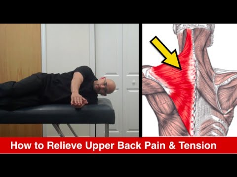 Video Atlanta Chiropractor - How to Relieve Upper Back Pain - Personal Injury Doctor Atlanta