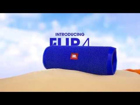 Активная акустическая система JBL FLIP 4 (белый)