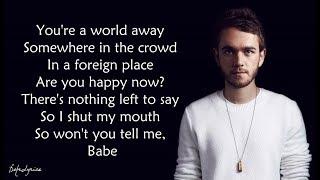 Happy Now   Zedd, Elley Duhé (Lyrics) 🎵