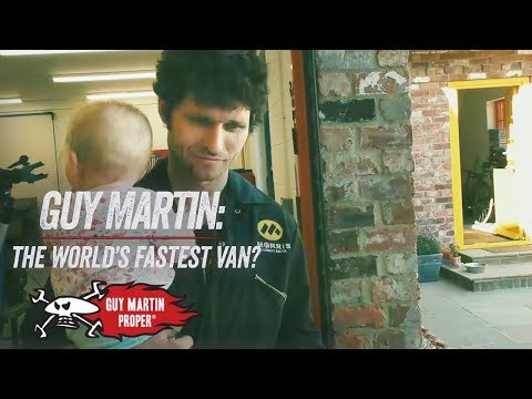 Life Since The U.S - The World's Fastest Van? | Guy Martin Proper