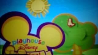 Playhouse Disney Original Logo 2007-2011 with 2002 Disney