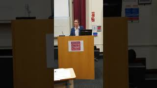 Liam Allan Speech At Innovation Of Justice Cardiff 2019