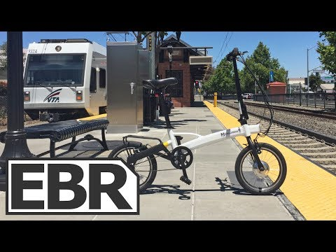 VeloMini Plus Video Review – Lightweight Folding Ebike