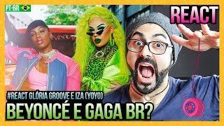 REAGINDO A Gloria Groove   YoYo (feat. IZA)