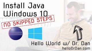 Eclipse + Java Development Kit (JDK) Installation on Windows 10 + First Java Project