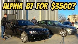 Here's Why You Should NEVER EVER Buy a Cheap BMW 7-Series: $3500 Alpina B7?