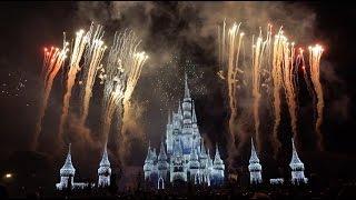 Holiday Wishes Fireworks Show At Disneys Magic Kingdom