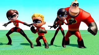 Тачки Машинки Мультик Игра для детей с героями мультфильма Суперсемейка The Incredibles