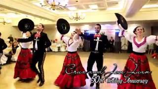 El Son de la Negra - Jarabe Tapatio - 50th Wedding Anniversary Dance Performance