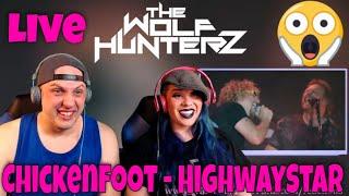 Chickenfoot - HighwayStar (Live) THE WOLF HUNTERZ Reactions