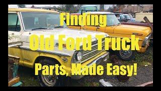 Old Ford Truck Junkyard