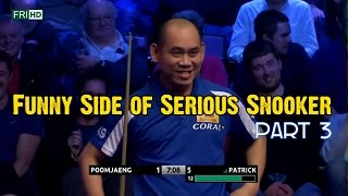 Funny Side Of Serious Snooker (Part 3)