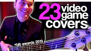 I played 23 Video Game Covers at the Bit Awards | Gig Vlog