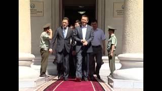 Теплое прощание Омурбека Бабанова с Правительством