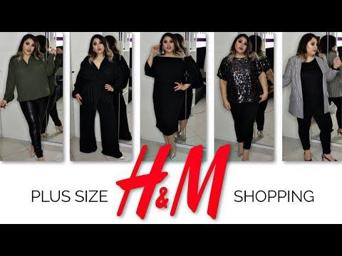 SHOPPING HAUL PLUSSIZE  H&M Haul 2019  Curvy  KLEIDERGRÖßE 46  Rosen Wunder