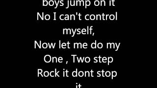 Ciara -One Two Step (Lyrics).