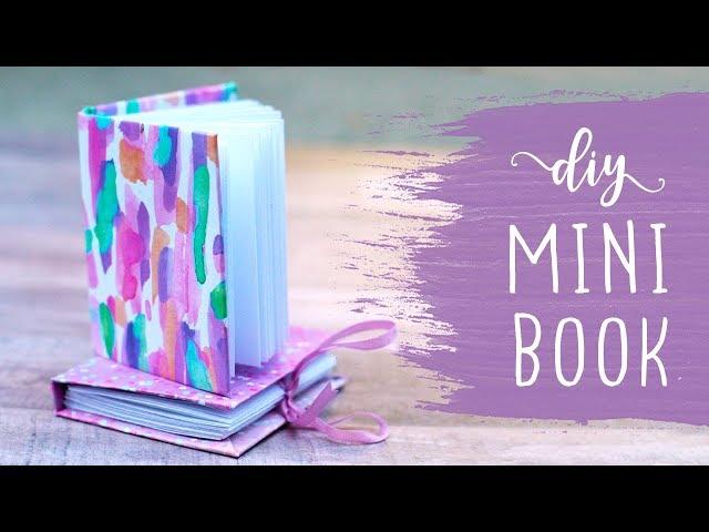 mini book making tutorial