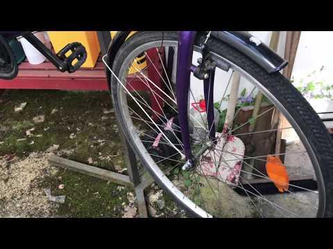 Fahrrad Vorderrad ausbauen MTB Trekkingbike Laufrad montieren und demontieren Anleitung