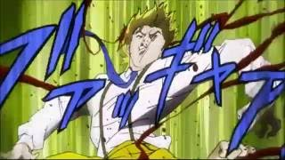every time Jonathan beats the sh*t out of Dio in Phantom Blood