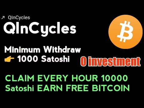 QlnCycles    Claim Every Hour Earn BITCOIN Free    Up To