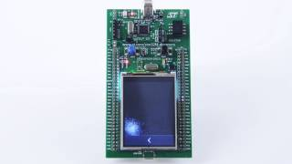 TouchGFX Demo on STM32F4 Discovery Board