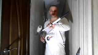 Удлинитель для валиков телескопический удочка 2м