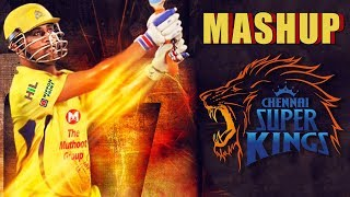Chennai SuperKings Mash Up | Dhoni's Saravedi Sixes