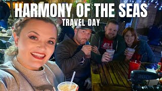 Travel Day to Port Canaveral for our first Royal Caribbean Cruise!