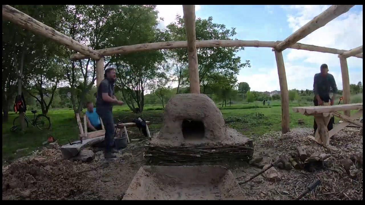 Створення давньоруської печі на Оствиці