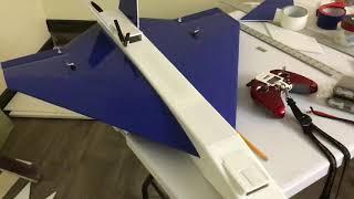 Experimental plane fpv plane