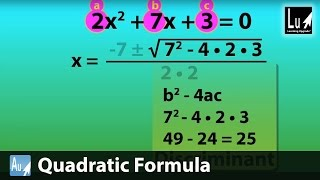 Quadratic Formula Song