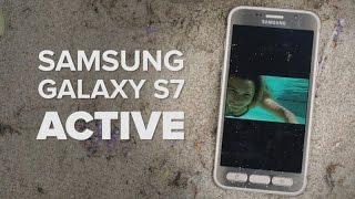 Así funciona el Samsung S7 Active en la playa [video]