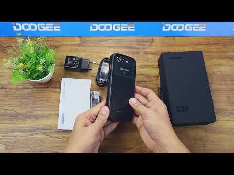 DOOGEE S30 Unboxing