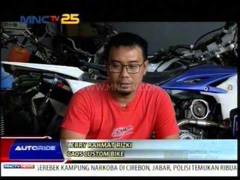 Video Bengkel Modifikasi Supermoto dan Motor Trail  - Autoride (19/4)