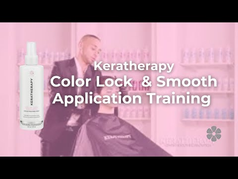 Keratherapy Color Lock & Smooth Application Training - YouTube