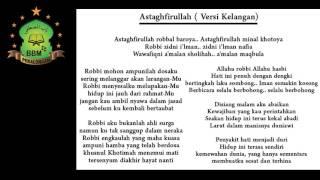 Babul Musthofa Astagfirullah Versi Kelangan Lyric (BBM)