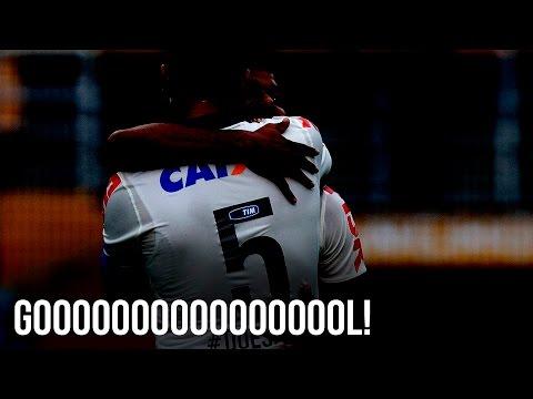 Gol do Corinthians! Ralf faz o segundo, de cabeça