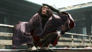 Sekiro: Shadows Die Twice - Folding Screen Monkeys Boss Fight