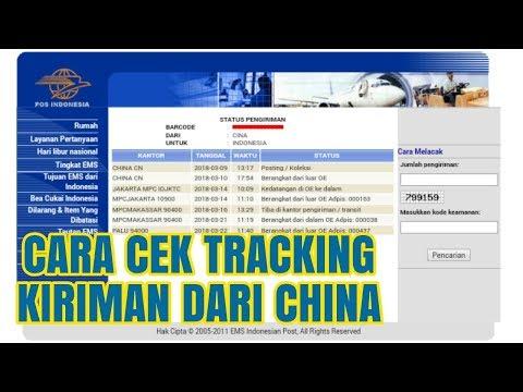 Cara Cek/Lacak Nomor Tracking Kiriman Dari China