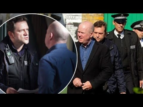 EastEnders - The Police Raid Phil Mitchell's Properties (6th December 2011)