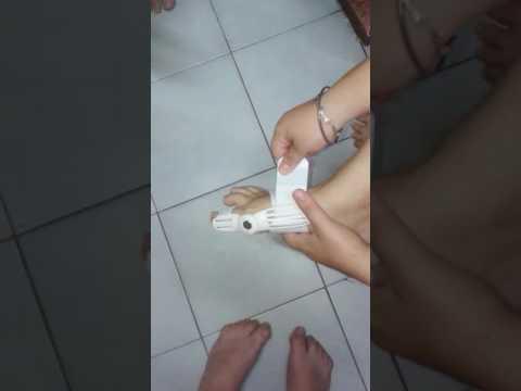 Walgusnoje die Verbiegung der Beine der Öbung