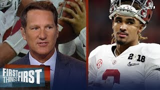 Danny Kanell on Jalen Hurts' QB frustrations in Alabama | CFB | FIRST THINGS FIRST