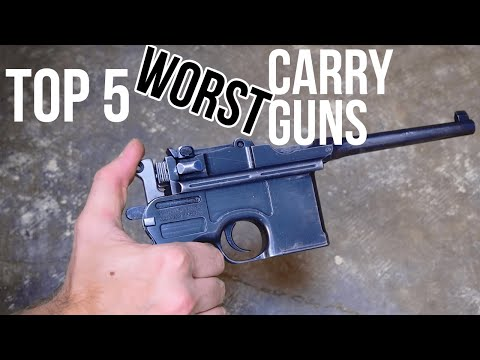 Top 5 Hilariously Bad Carry Guns | TFBTV