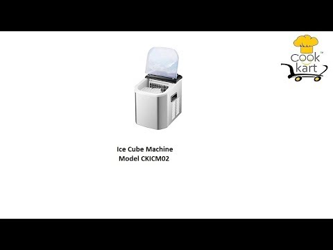 Ice Cube Machine 12Kg Portable
