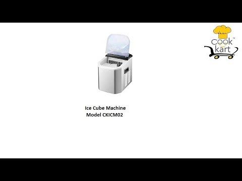 Ice Cube Machine 12Kg Portable
