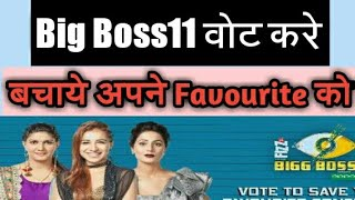 How To Vote For Big Boss 11 Favourtie Contestants in Hindi